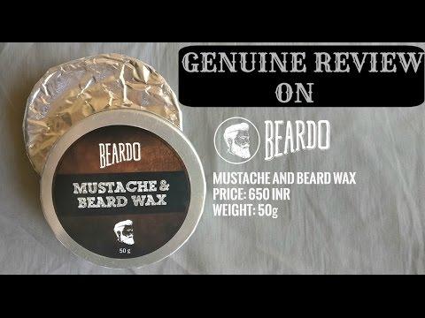 REVIEW ON MOUSTACHE & BEARD WAX (BEARDO)