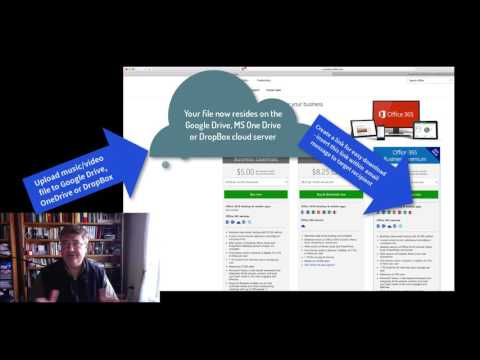 How to Send Large Music and Video Files via Email