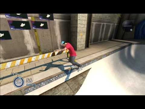 Skate 3: Secret Skate Spot #3! [Construction Site Bowl]