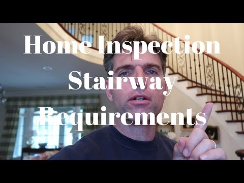 Home Inspection Stairway Requirements