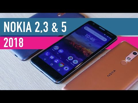 New Nokia 2, 3 and 5 (2018) hands-on review
