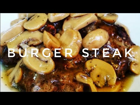 HOW TO COOK BURGER STEAK