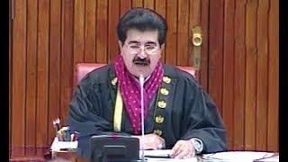 Sadiq Sanjrani chairman senate muntakhib