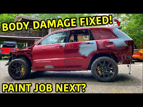 Rebuilding A Wrecked Jeep Trackhawk Part 14