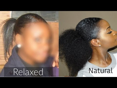 MY TRANSITION STORY | FROM THIN RELAXED HAIR TO FULL NATURAL HAIR | MY MISTAKES...