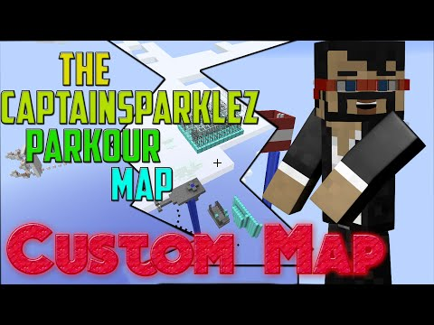 Minecraft : CaptainSparklez Parkour/Puzzle/Adventure Map [CUSTOM MAP][Walkthrough/Guide/Tutorial]