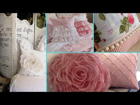 ❤ DIY Shabby Chic Style Cushion decor Ideas ❤ | Home decor & Interior design | Flamingo Mango