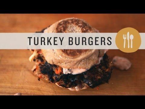 Moist Turkey Burger Recipe