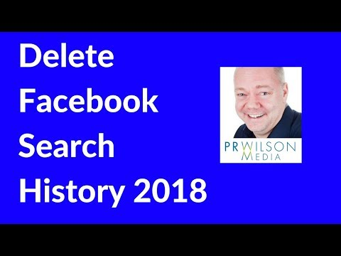 Delete your Facebook search history 2018
