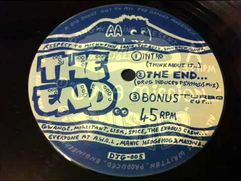 The Invisible Man - The End Drug (induced Psychosis Mix)