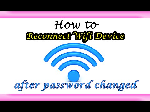 Reconnect Wifi Device after Password Changed |Learn How to|
