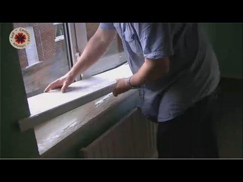 Fitting Window Sill