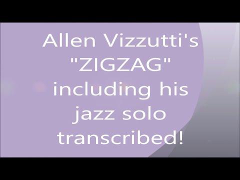Allen Vizzutti's ZIGZAG Jazz Improv Solo Transcription! by Kurt Thompson