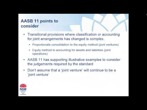 Code of Accounting Practice Power Point Presentation - AASB12