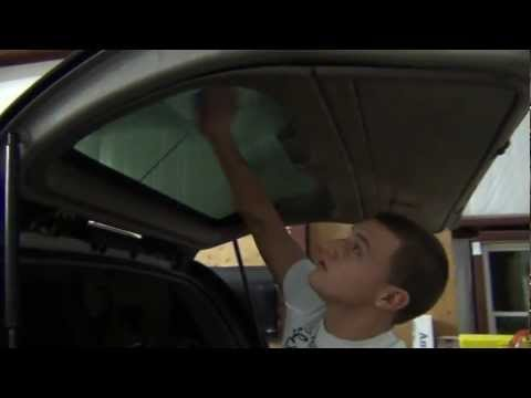 How to remove window tint : Rear Window