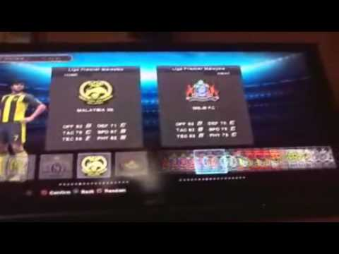 PES 2013 Malaysia League Patch For PS3 (UNFINISHED) (Work In Progress)