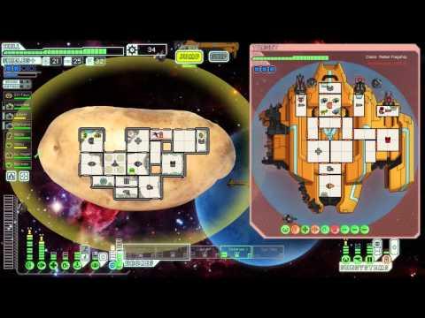 FTL (Custom Ship): Potato Ship Vs. Rebel Flagship