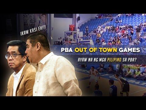 Out of Town Games ng PBA, Wala naring Nanonood | Talo na ng MPBL ang PBA?