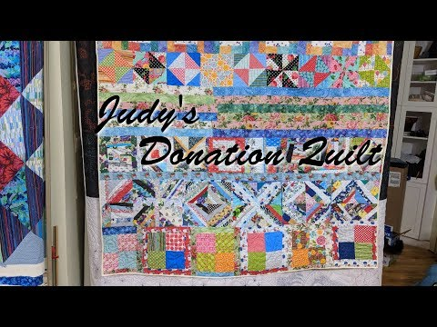 Judy's Donation Quilt