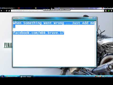 [Tutorial]-How To Make Facebook Log In Page Beautiful !
