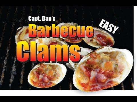 Capt Dans DIY Easy Barbecue Clams 1