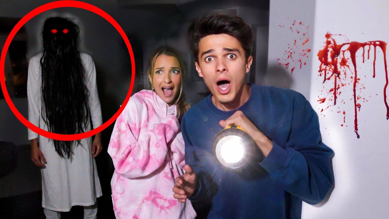 SO WE THINK OUR NEW HOUSE IS HAUNTED (VIDEO PROOF)