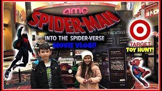 Download Spider-Man Into The Spider-Verse Movie Vlog!! Target Toy Hunt! Hibachi Birthday Dinner! Video