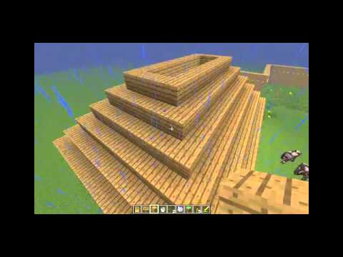 tutorial on how to make a pyramid roof