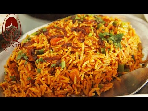 Spicy Veg Biryani - South Indian