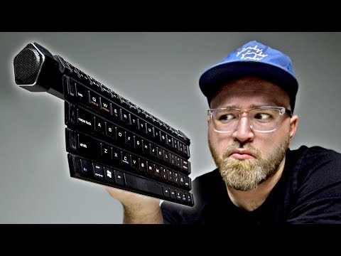 Ever Tried Rolling Your Keyboard?