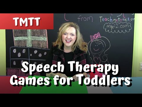 Games for Toddlers Speech Therapy..Therapy Tip of the Week