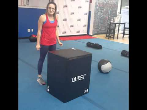 How to Box Jump on soft PLYO BOX