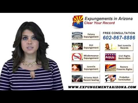 Can I Get My DUI Expunged   Expungements in Arizona