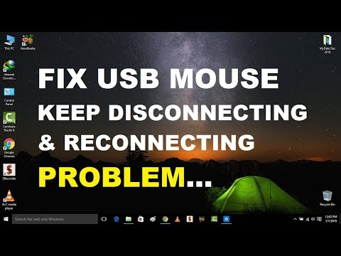 How to Fix USB Mouse Keeps Disconnecting in Windows 10 | 3 Best Solutions