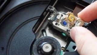 Playstation 2 - Solution aux problèmes de lecture (nettoyage lentille)