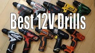 Best 12 Volt Cordless Drills - 2016 DeWalt, Makita, Bosch, Milwaukee, Ridgid, Hitachi