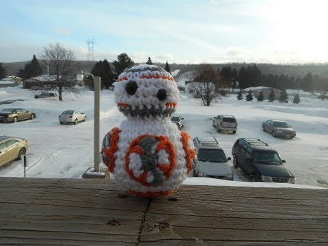Amigurumi Crochet BB8 Star Wars Tutorial