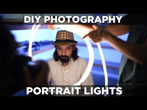 DIY photography lighting hacks | Great lights for portrait, product and food photography