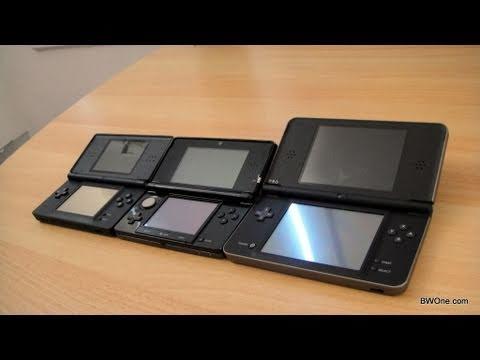 Nintendo 3DS vs DS Lite vs  DSi vs DSi XL