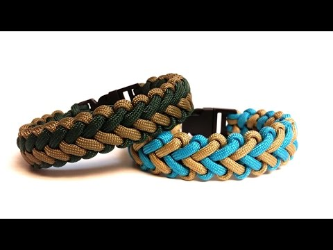 How to Make the V Hitch Paracord Bracelet