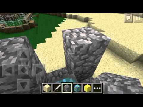Minecraft Pocket Edition How to Build The Nether Reactor!