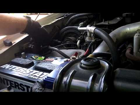 6.0L Ford Super Duty Powerstroke - Replacing the Batteries
