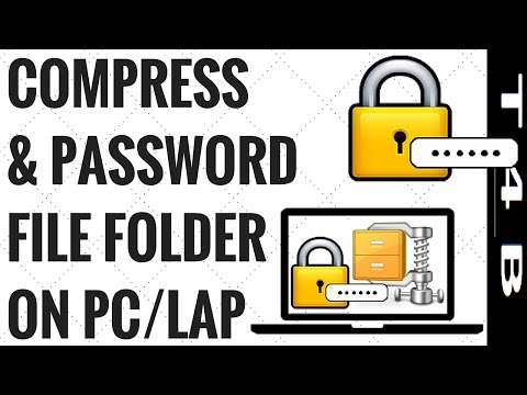 How to Compress Files & Folders with Password Protection Files Folder Easily with WinRAR