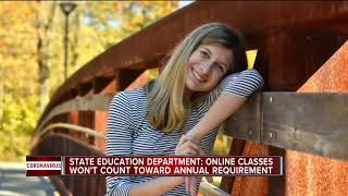 State education department: Online schooling won't count toward annual requirement