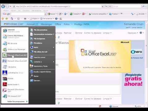 Como Habilitar Las Macros En Excel 2007