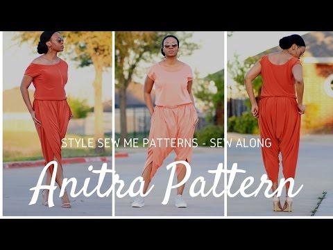 Anitra Jumpsuit Pattern Sew Along