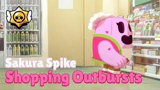 Brawl Stars: Sakura Spike - Shopping Outbursts