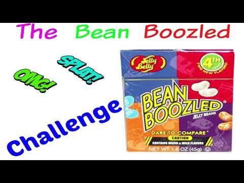 Bean Boozle Off Eating Challenge | Very Funny With Vomit warning!