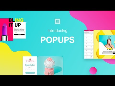 Introducing Elementor Popups, The Ultimate Popup Builder