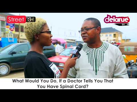 Skit : Delarue tv - What Will You do if You Find Out You Have a Spinal Cord?